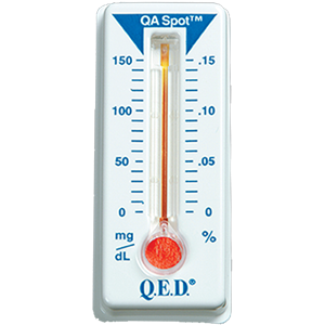 QED Saliva alcohol screening device